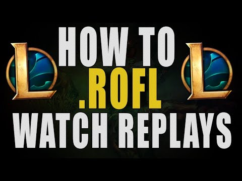 How To Share/Watch Replays In League Of Legends While The Match History Is Down PROBLEM RESOLVED.