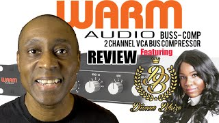 Warm Audio Bus Comp 2 Channel Bus Compressor REVIEW | What Does It Sound Like