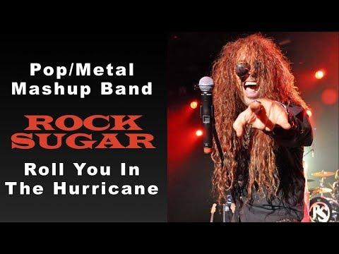 Rock Sugar  Adele & Scorpions Metal Mashup  Roll You In The Hurricane  80s Hard Rock