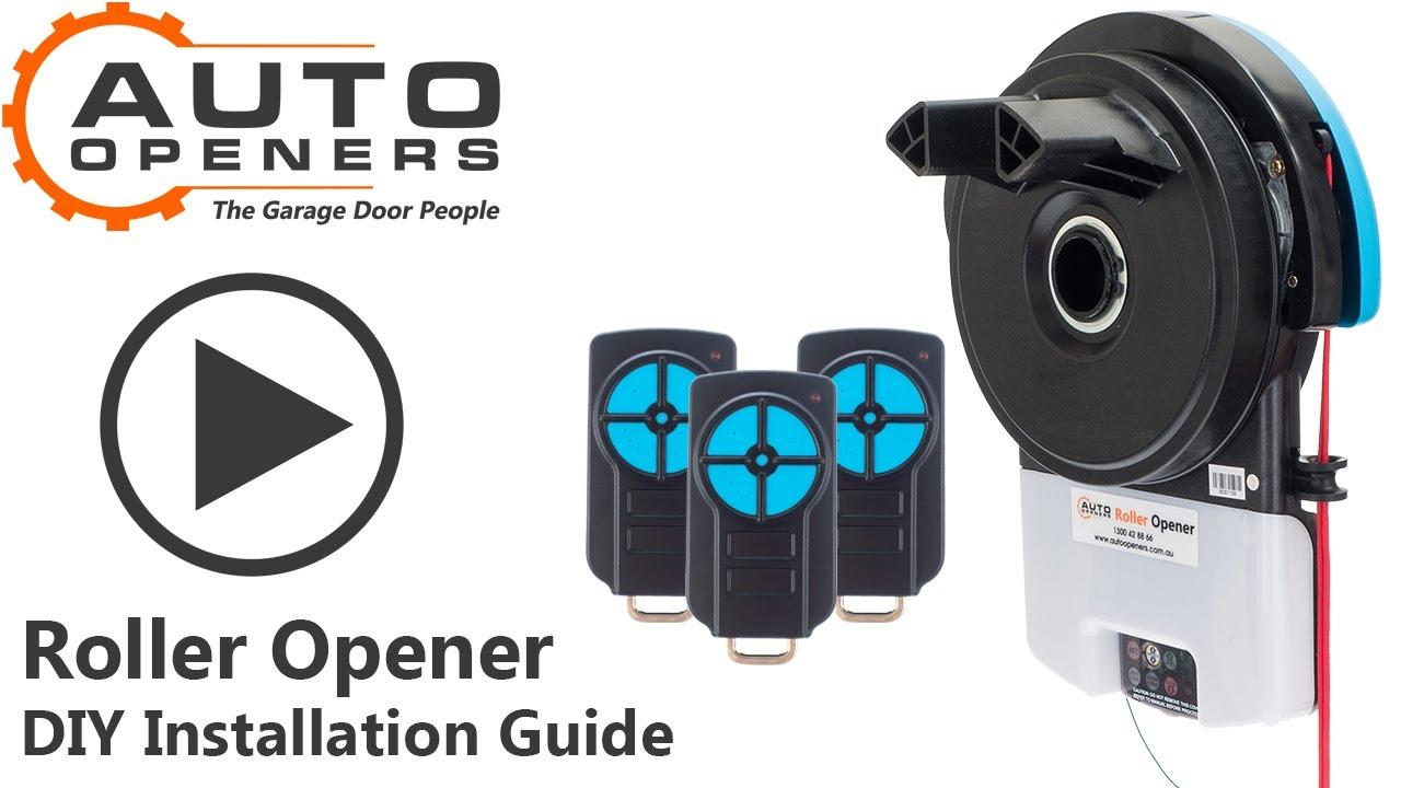 How To Install A Roller Opener Auto Openers Garage Door
