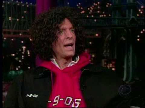 Howard Stern on Late Show With David Letterman 17 11 2005