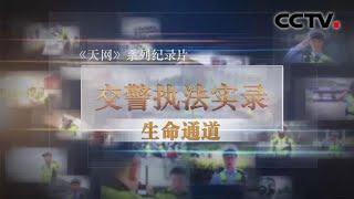 《天网》 交警执法实录 生命通道 | CCTV社会与法
