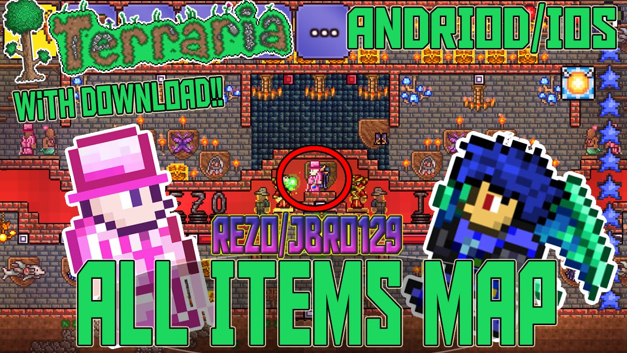 Terraria mod apk all items | Download Terraria Mod Apk v 1 3 [Free