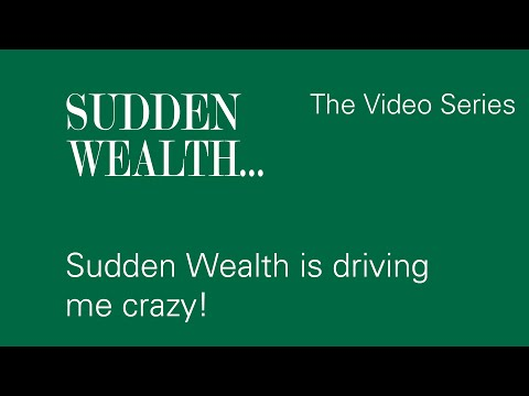 My Sudden Wealth is Driving Me Crazy! Finding a Therapist