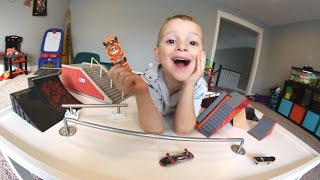 Father & Son  EPIC FINGERBOARD PARK!