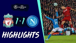 Liverpool 1-1 Napoli | Lovren header rescues point for Reds | Highlights