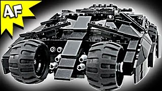 Custom Lego Batman TUMBLER + BATPOD Dark Knight Edition Review