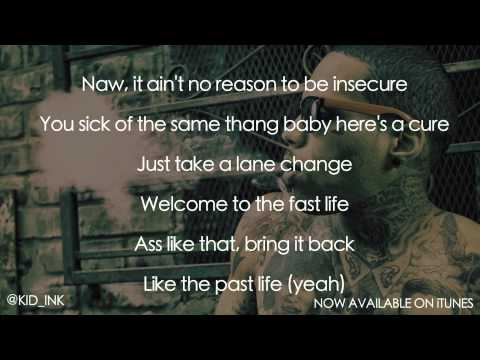 Kid Ink - Time Of Your Life [Official Lyrics Video] [Clean]