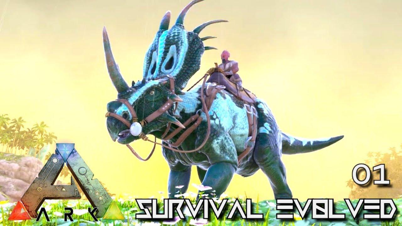 ARK: SURVIVAL EVOLVED - EPIC NEW JOURNEY BEGINS E01