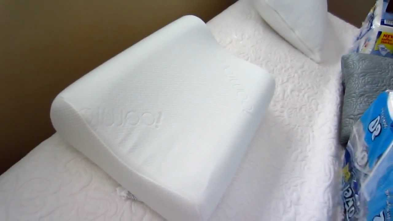 Hydraluxe Premium Molded Foam Bed Pillow Standard White Comfort Revolution serta icomfort contour pillow - gel memory foam by paul79uf