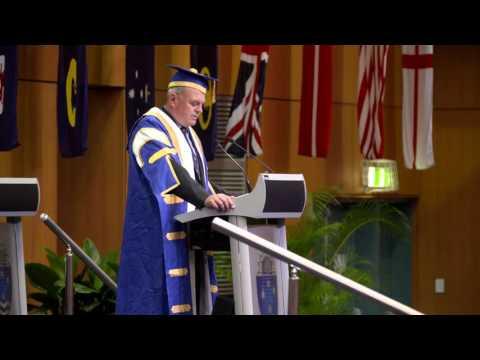Bond University Graduation Ceremony June 2016 - Business & HSM