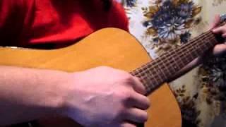 Игра на гитаре песни Пачка сигарет, Виктор Цой, Кино