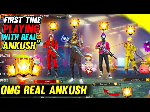 Download TOP 1 GLOBAL PLAYER IN MY GAME | ANKUSH FF IN MY MATCH | TEAM UP WITH ANKUSH FF | I KELLED ANKUSH FF
