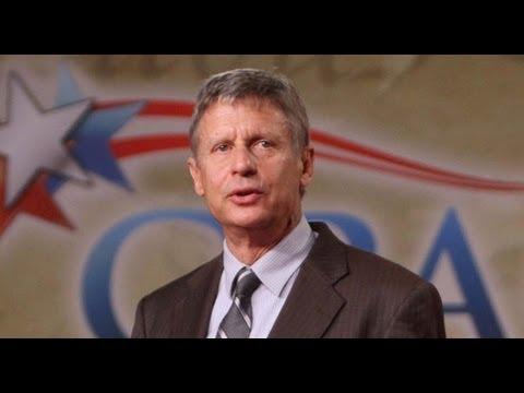 Mitt Romney, GOP Fear Libertarian Gary Johnson