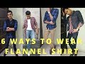 6 Ways To Wear A Flannel Shirt For INDIAN MEN! How To Wear Flannel Shirt!