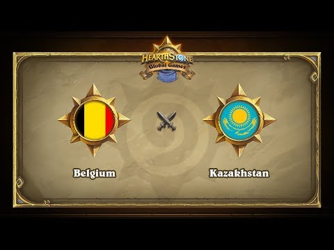 Бельгия vs Казахстан | Belgium vs Kazakhstan | Hearthstone Global Games (23.05.2017)