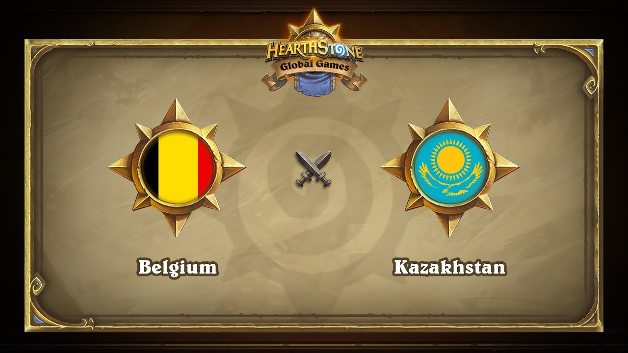 Бельгия vs Казахстан | Belgium vs Kazakhstan | Hearthstone Global Games (23.05.2017)
