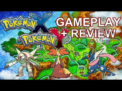 Pokemon x and y 3ds mega mewtwo mega evolution yveltal battle lumiose city gameplay - Pokemon version rubis evolution ...