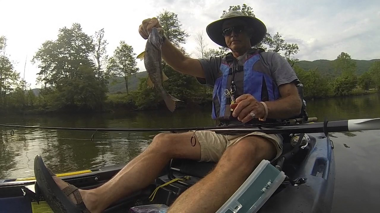 Kayak fishing mendota va 05182017 youtube for Free fishing license for veterans