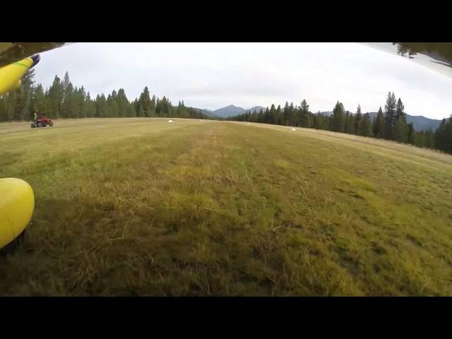 landing and takeoff Seeley Lake