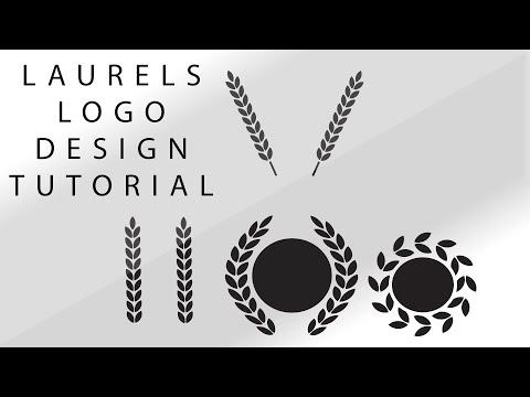 Laurels/Wreath Logo Design Tutorial [Illustrator Tutorial]