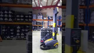 (주)티비티 이동식 로봇 랩핑기  BeeWrap