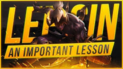 Broxah | Lee Sin Jungle: AN IMPORTANT LESSON TO LEARN