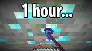 How many diamonds can minecraft automine get in 1 hour…