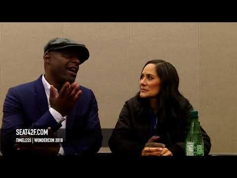 Timeless Paterson Joseph, Sakina Jaffrey Interview WonderCon 2018 HD