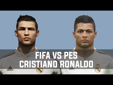 Fifa vs Pes Cristiano Ronaldo 2004-2015