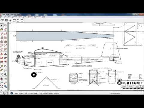 Balsa plans to foam conversion in Sketchup | Flite Test