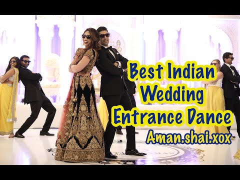 Indian Wedding Entrance Dance
