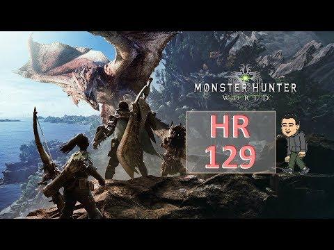 HR 131 - March 22 for New update - Monster hunter World