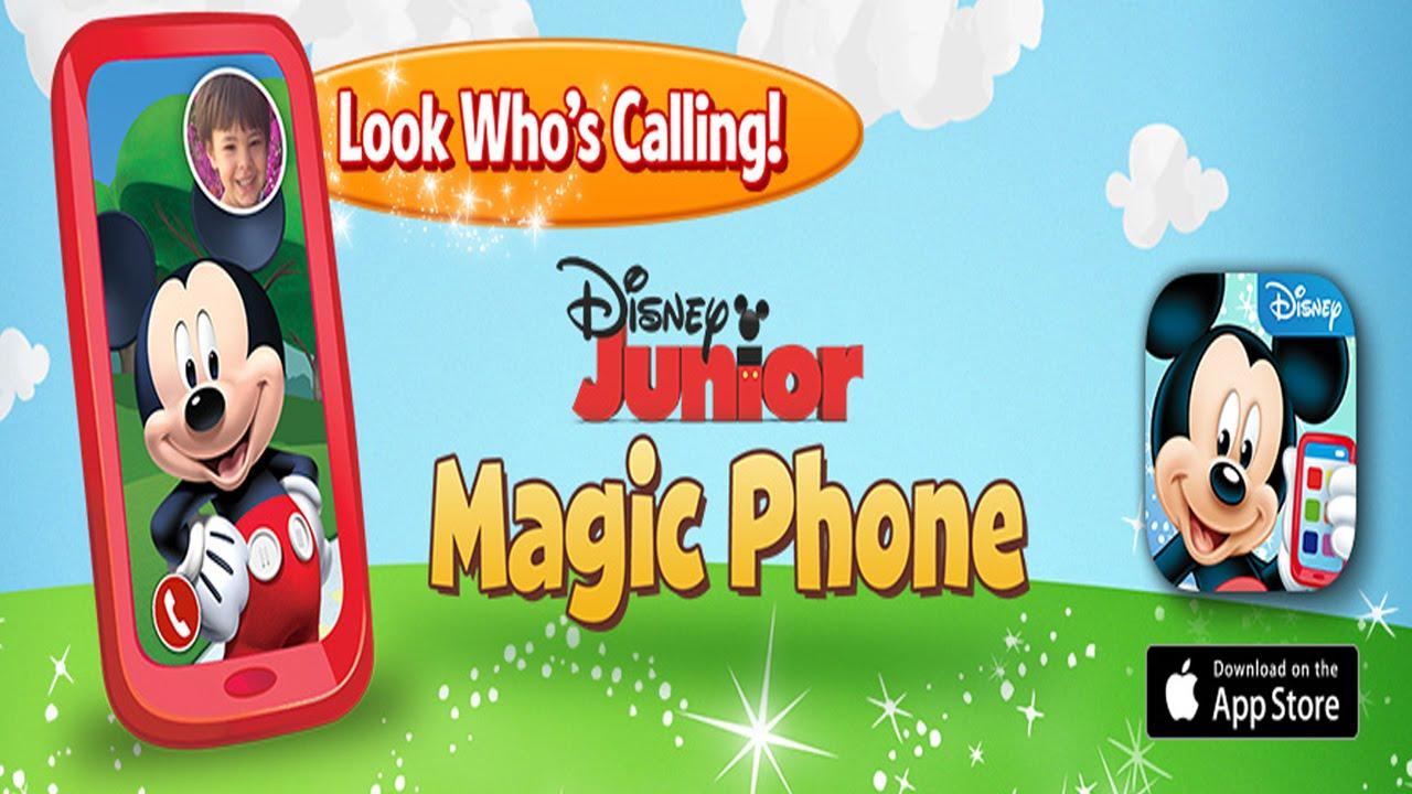6e0aa4321 Disney Junior Magic Phone starring Mickey Mouse (Disney) - Best App For Kids  - YouTube