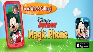 Disney Junior Magic Phone starring Mickey Mouse (Disney) - Best App For Kids