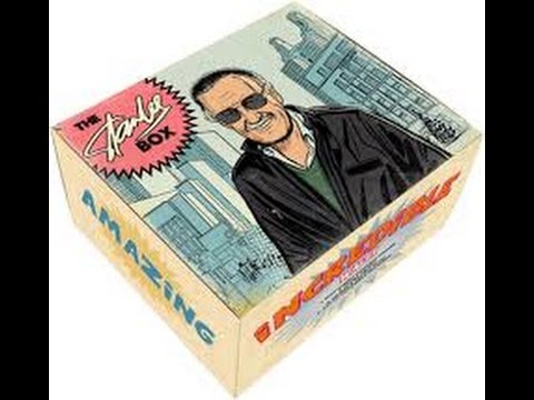 The Official Stan Lee Box Unboxing! Pow Entertainment!