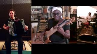 Richard Bona Markbass Video + DRUMS+ACCORDEON