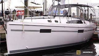 2017 Catalina 425 Sailing Yacht - Deck and Interior Walkaround - 2016 Annapolis Sailboat Show