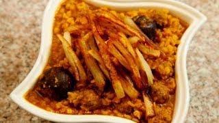 Khoresht Gheymeh or gheimeh (split yellow peas) stew recipe Video