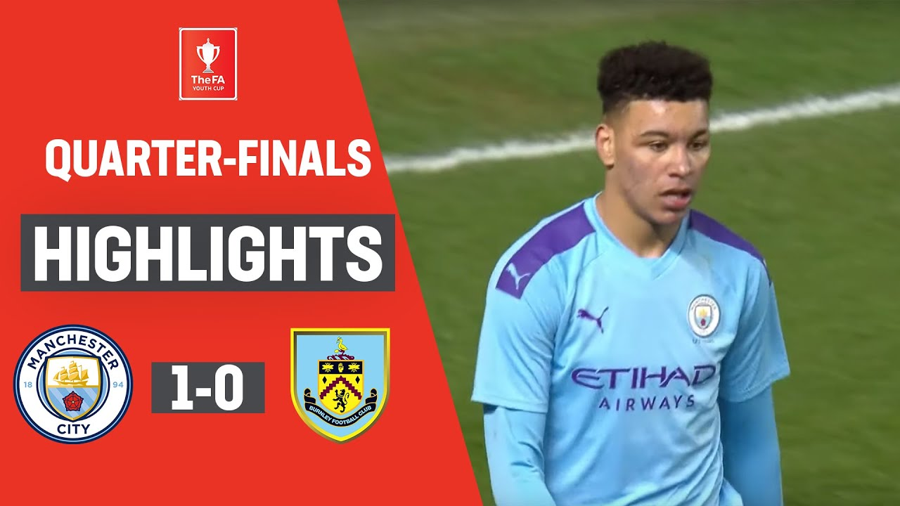 Delap Winner Puts City in Semi-Finals! | Manchester City U18 1-0 Burnley U18 | FA Youth Cup 19/20