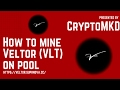 How to mine Veltor VLT on pool