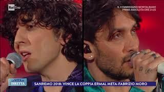 I Big parlano dei vincitori Meta e Moro - La Vita in Diretta 12/02/2018