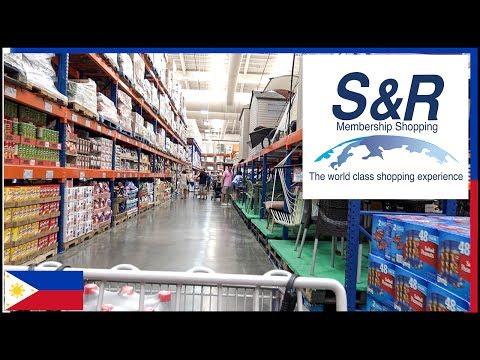 S&R Grocery - Metro Manila Philippines