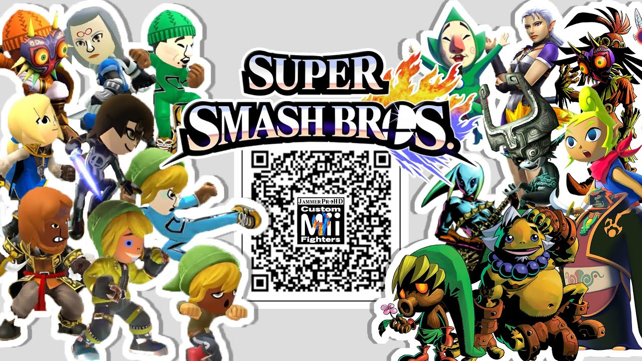 Waluigi Daisy Magikoopa Shy Guy More Mii Fighter Qr Codes For Smash Bros Youtube It works for creating qr code or mii image. mii fighter qr codes for smash bros