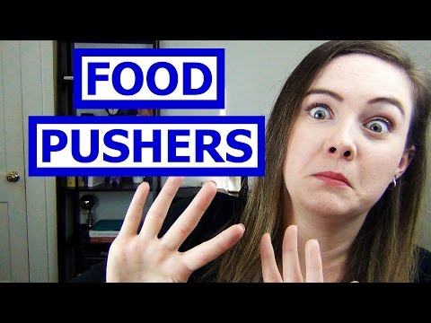 Dealing with Food Pushers without Drama