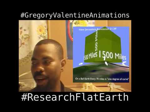 The New Jerusalem The value of thirds and The Flat Earth by Gregory Valentine