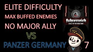 Hearts of Iron 4 - Hardest Possible Game - Fuhrerreich - Germany - Part 7