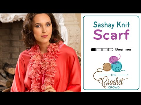 How To Knit A Sashay Scarf Youtube