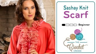 How To Knit a Sashay Scarf