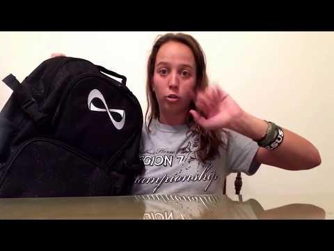 UNBOXING/REVIEW BLACK SPARKLE NFINITY BAG